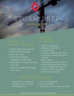 Storm Prep Checklist (2)